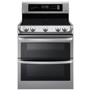 LG Appliances Electric Ranges 7.3 cu. ft. Electric Convection Range