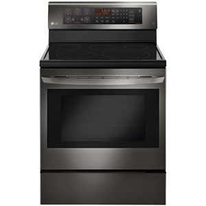 LG Appliances Electric Ranges- LG 6.3 cu. ft. Capacity Electric Single Oven Ra