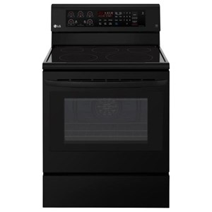 LG Appliances Electric Ranges 6.3 cu. ft. Capacity Electric Single Oven Ra
