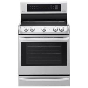 LG Appliances Electric Ranges 6.3 cu. ft Electric Single Oven Range