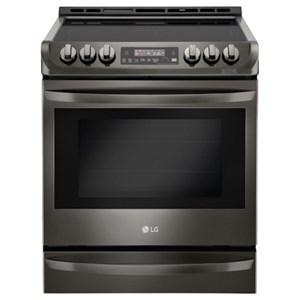 LG Appliances Electric Ranges- LG 6.3 cu. ft. Electric Slide-in Range