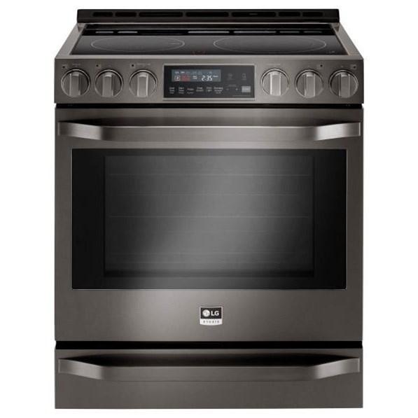 Electric Ranges- LG LG Studio 6.3 Cu.Ft. Electric Slide-In-Range by LG Appliances at Westrich Furniture & Appliances