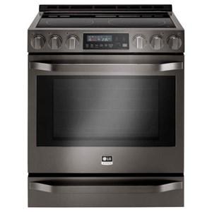 LG Appliances Electric Ranges- LG LG Studio 6.3 Cu.Ft. Electric Slide-In-Range
