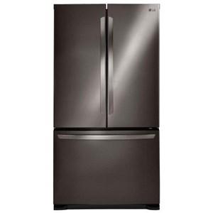 LG Appliances French Door Refrigerators 20.7 Cu. Ft. French Door Refrigerator