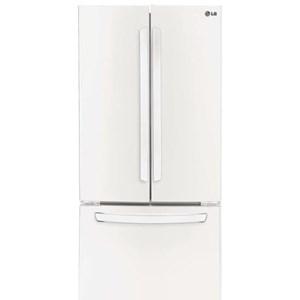 LG Appliances French Door Refrigerators 21.8 Cu. Ft. French Door Refrigerator