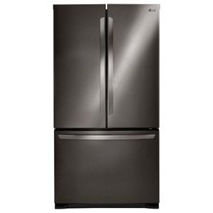 LG Appliances French Door Refrigerators 25 Cu.Ft. 3-Door French Door Refrigerator