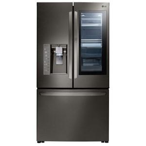 LG Appliances French Door Refrigerators 24 Cu.Ft. Door-in-Door® Counter-Depth Fridge