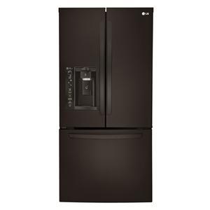 LG Appliances French Door Refrigerators 24.2 Cu. Ft. 3 Door French Door Fridge