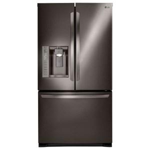 LG Appliances French Door Refrigerators 24 cu. ft. 3-Door French Door Refrigerator