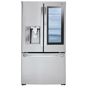 LG Appliances French Door Refrigerators 30 Cu. Ft. Door-in-Door® French Door Fridge