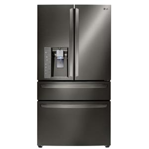 23 Cu. Ft. Large Capacity Counter Depth 4-Door French Door Refrigerator with CustomChill™ Drawer