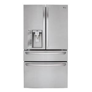 LG Appliances French Door Refrigerators 23 Cu. Ft. Counter Depth French Door Refrige