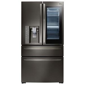 LG Appliances French Door Refrigerators 23 Cu.Ft. Door-in-Door® Counter-Depth Fridge