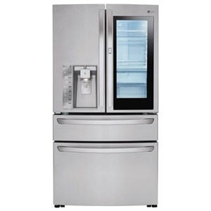 LG Appliances French Door Refrigerators 23 Cu.Ft. Door-in-Door® Counter-Depth Fridge