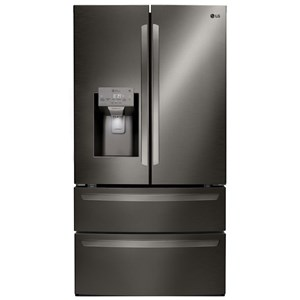 28 cu.ft. Capacity 4-Door French Door Refrigerator