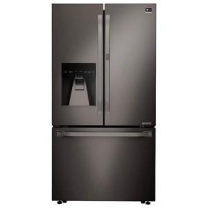 LG Appliances French Door Refrigerators 24 Cu. Ft. Counter Depth French Door Fridge