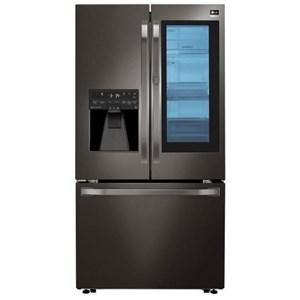 LG Appliances French Door Refrigerators 24 Cu.Ft. InstaView™ Counter-Depth Fridge