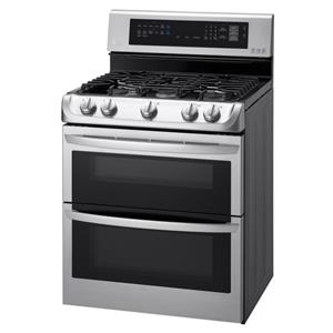 6.9 Cu. Ft. Gas Double Oven Range with ProBake Convection™, EasyClean®