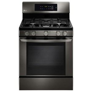LG Appliances Gas Ranges 5.4 cu. ft. Single Oven Gas Range