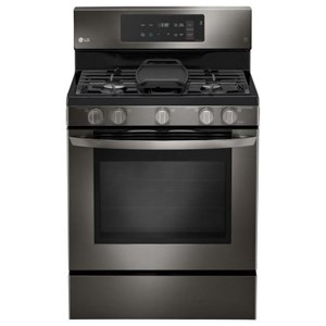 5.4 cu. ft. Capacity Gas Single Oven Range with EvenJet Fan Convection and EasyClean