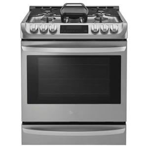 6.3 cu. ft. Gas Slide-in Range with ProBake Convection™ and EasyClean®