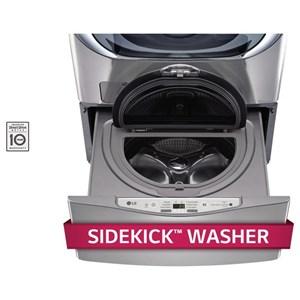 LG Appliances Laundry Accessories 1.0 CU. FT. SideKick™ Pedestal Washer