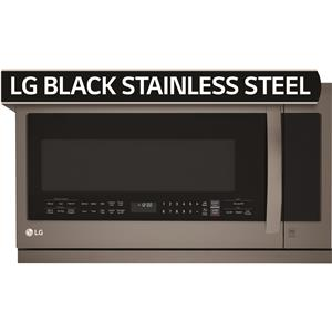 Black Stainless Steel Series 2.2 Cu. Ft. Over the Range Microwave