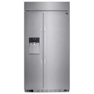 LG Appliances Side by Side Refrigerators 26.5 cu.ft. Side-by-Side Refrigerator