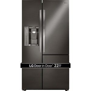 LG Appliances Side by Side Refrigerators- LG 22 Cu. Ft. Side-By-Side Door-in-Door® Fridge