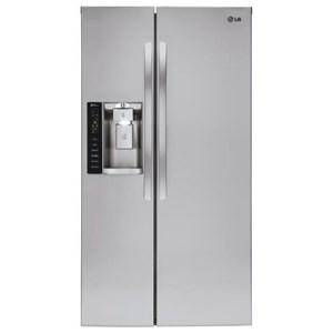 LG Appliances Side by Side Refrigerators 22 cu. ft. Counter-Depth Refrigerator