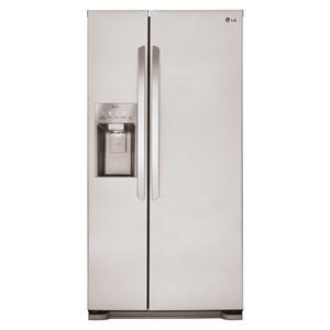 LG Appliances Side by Side Refrigerators 22 cu. ft. Side by Side Refrigerator