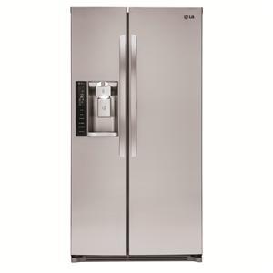 LG Appliances Side by Side Refrigerators 26 cu. ft. Side by Side Refrigerator