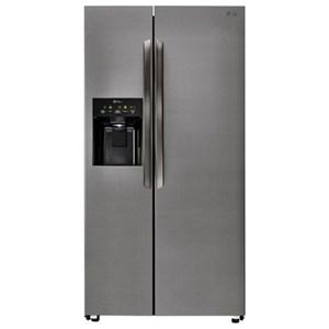 LG Appliances Side by Side Refrigerators- LG 26 Cu. Ft. Side-By-Side Refrigerator