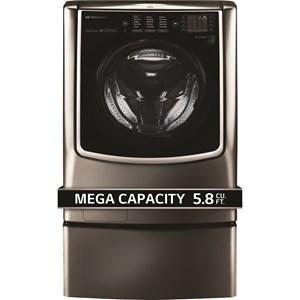 LG Appliances Washers LG SIGNATURE 5.8 Cu.Ft. Mega Capacity Washer