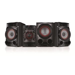 LG Electronics LG Home Audio 500W CD MINI HIFI SHELF SYSTEM