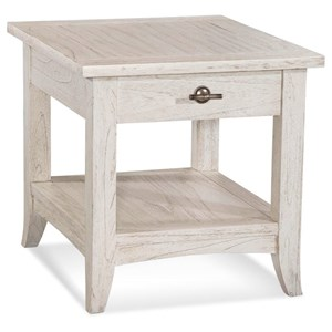 Casual Styled End Table