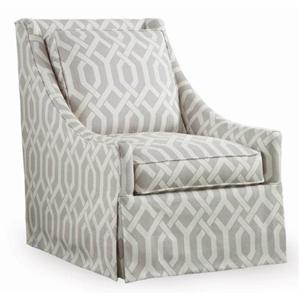 Libby Langdon for Braxton Culler Libby Langdon Osborne Swivel Chair