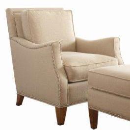 Libby Langdon for Braxton Culler Libby Langdon Haynes Chair w/ Small Nailheads