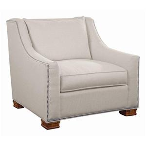 Libby Langdon for Braxton Culler Libby Langdon Brayden Chair w/ Small Nailheads