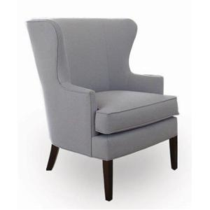 Libby Langdon for Braxton Culler Libby Langdon Treadwell Wing Chair