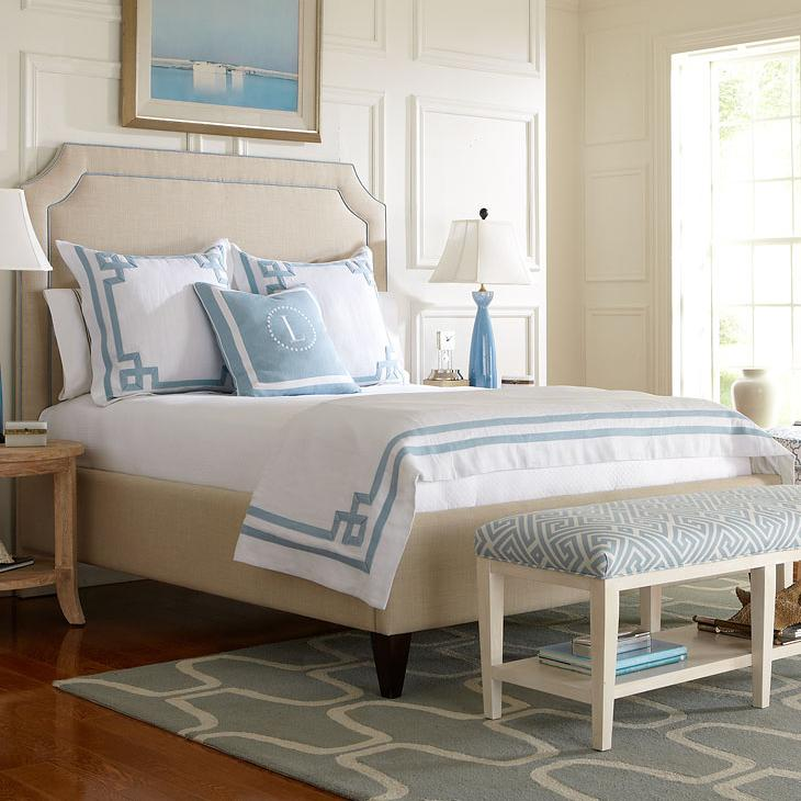 Libby Langdon Cooper King Bed by Libby Langdon for Braxton Culler at Esprit Decor Home Furnishings