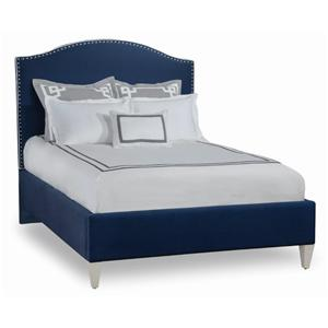 Libby Langdon for Braxton Culler Libby Langdon Elliston Queen Bed w/ Nailheads