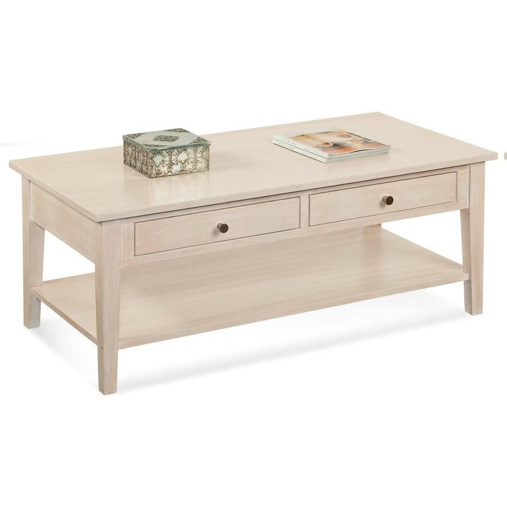 South Hampton Cocktail Table by Braxton Culler at Alison Craig Home Furnishings