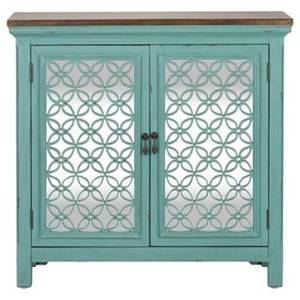 Transitional Accent Chest with 2 Doors