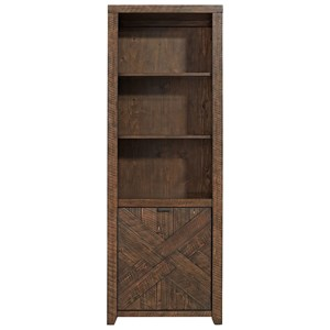 Contemporary Bookcase with Adjustable Shelves
