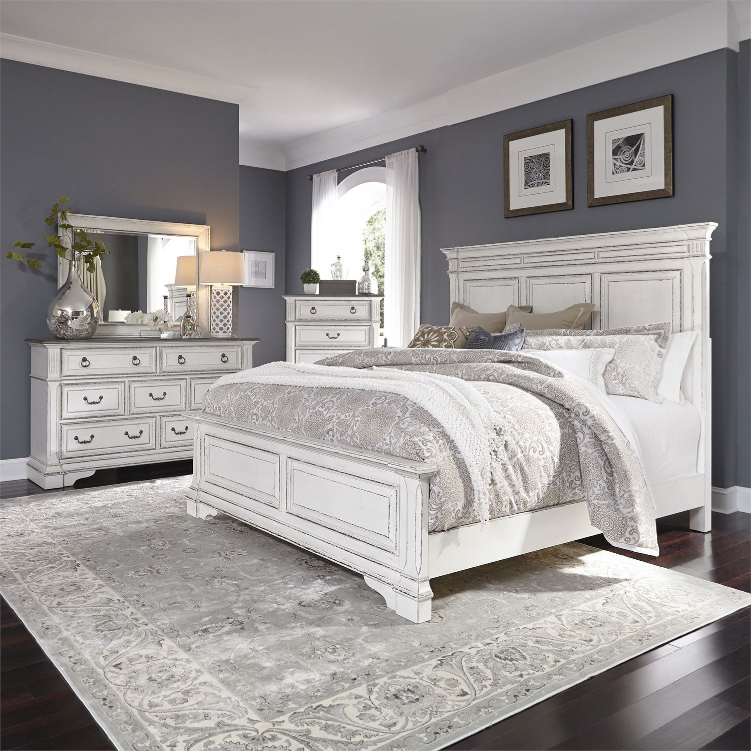 Abbey Park King Bedroom Group by Liberty Furniture at A1 Furniture & Mattress
