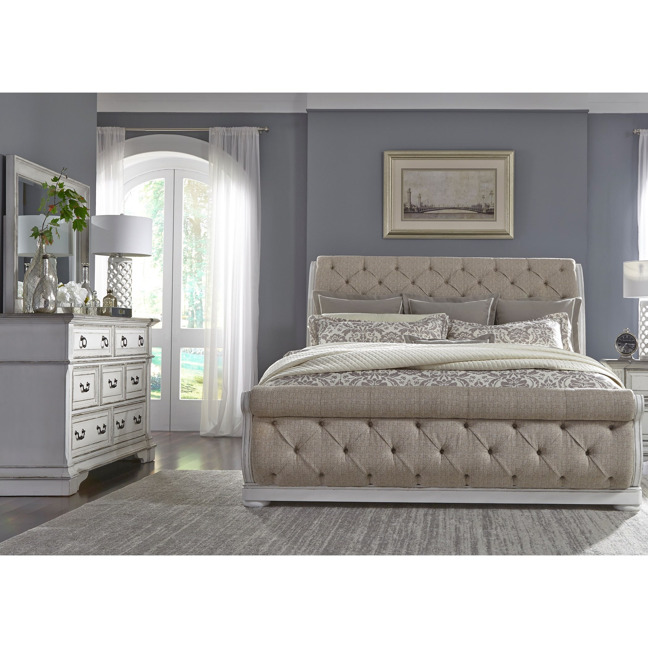 Abbey Park California King Bedroom Group by Liberty Furniture at Coconis Furniture & Mattress 1st