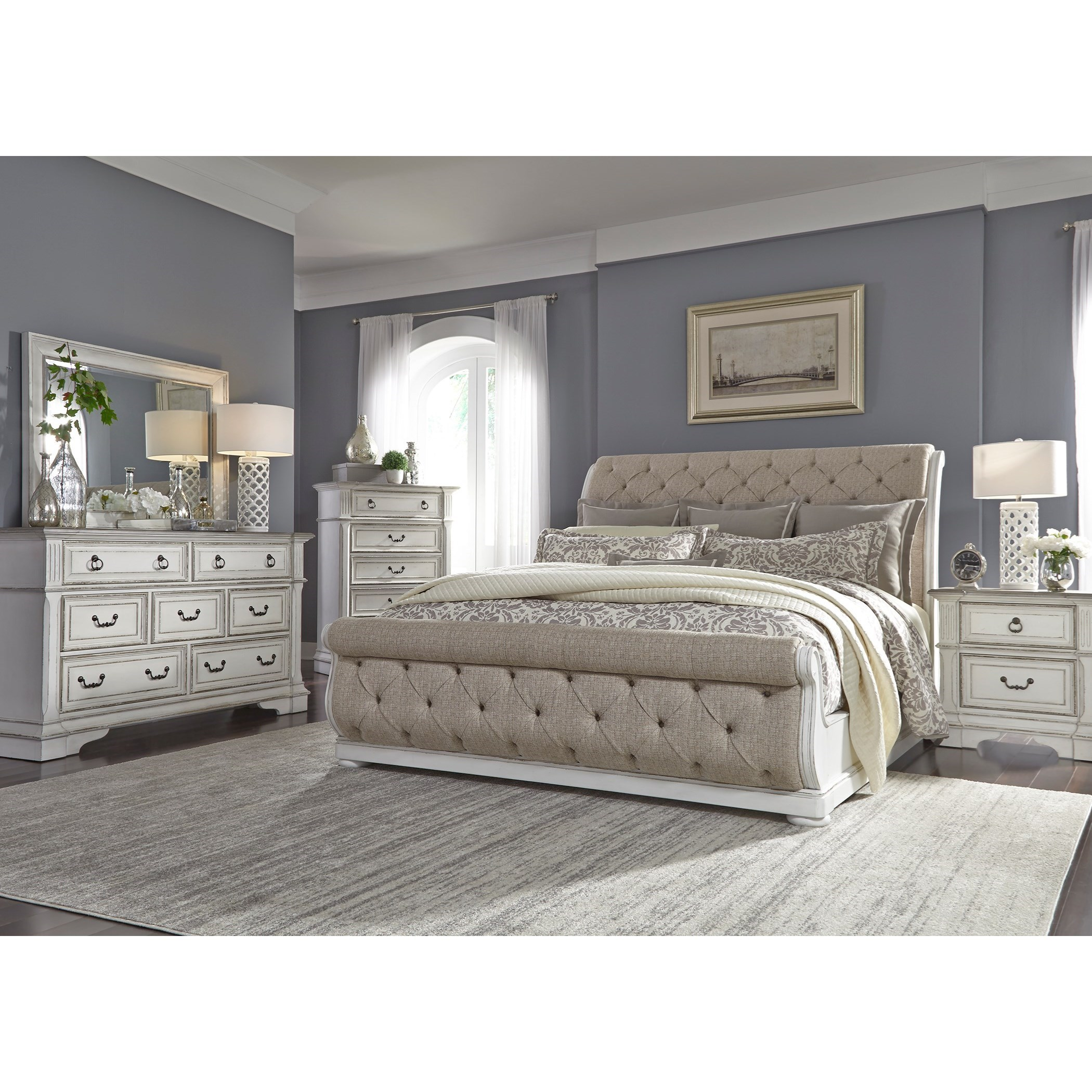 Abbey Park Queen Bedroom Group by Liberty Furniture at Standard Furniture