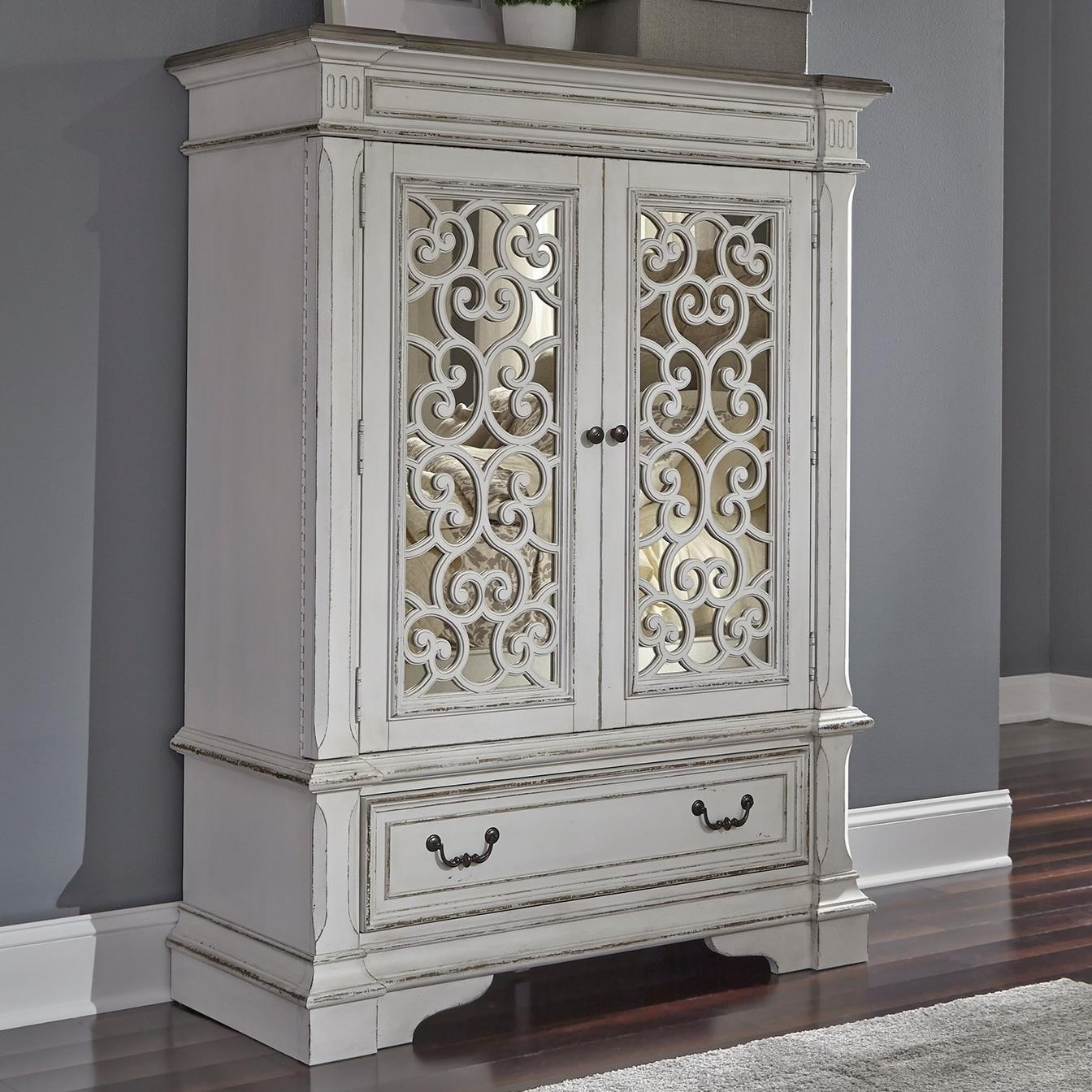 Abbey Park Chest with Doors by Liberty Furniture at Novello Home Furnishings