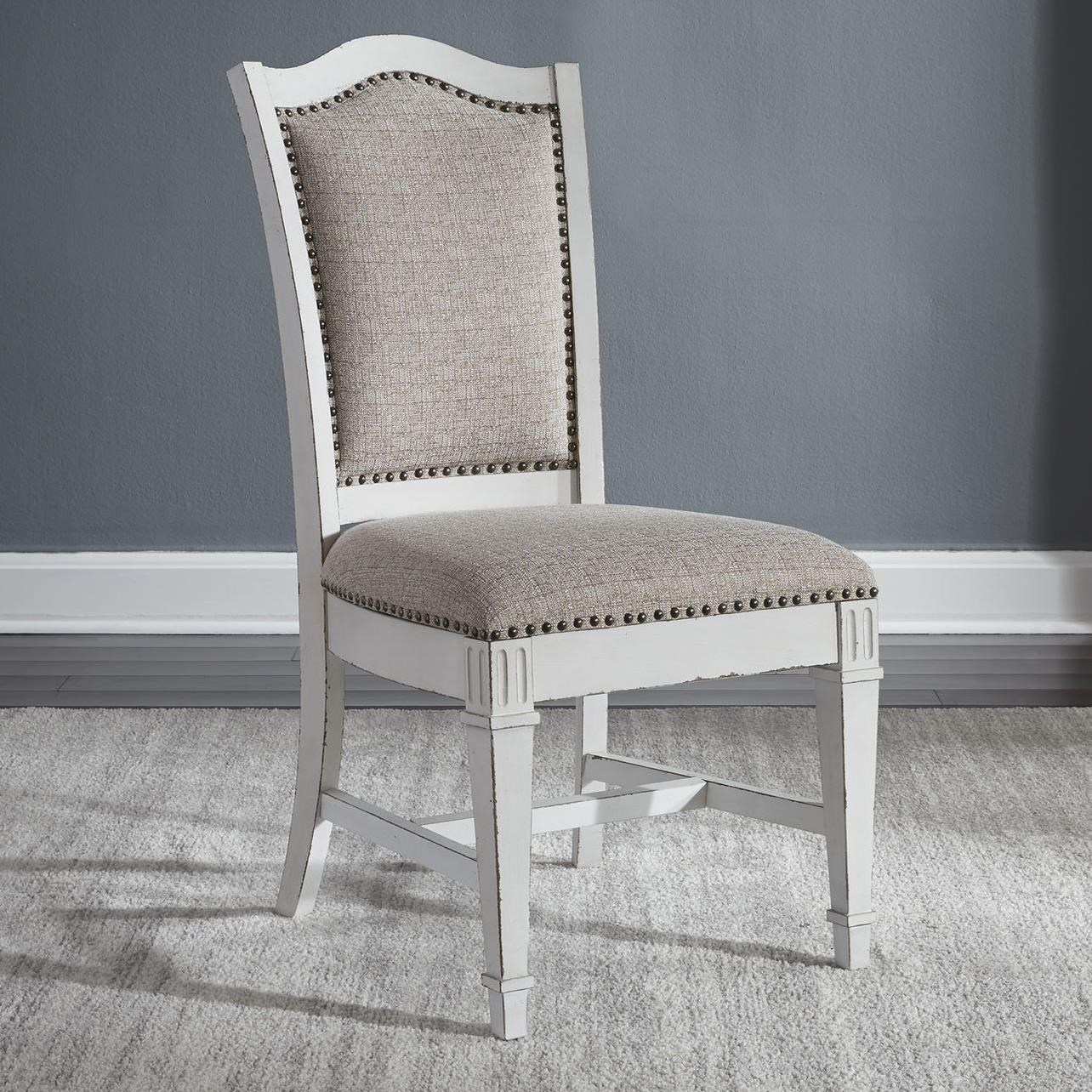 Abbey Park Upholstered Side Chair by Liberty Furniture at Adcock Furniture